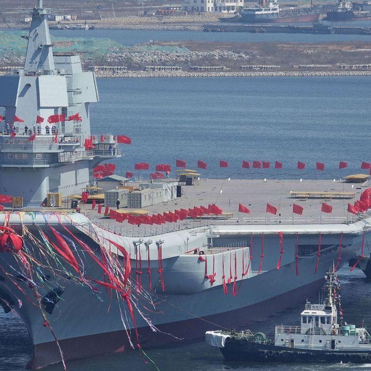 China inauguró su primer portaaviones fabricado por completo en el país - https://www.vexsoluciones.com/tecnologias/china-inauguro-su-primer-portaaviones-fabricado-por-completo-en-el-pais/