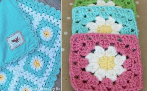 Daisy Granny Square Crochet