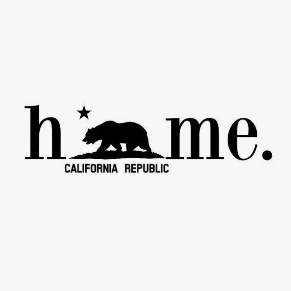 California Bear Flag Republic Home Sticker Decal | Bear Flag Museum