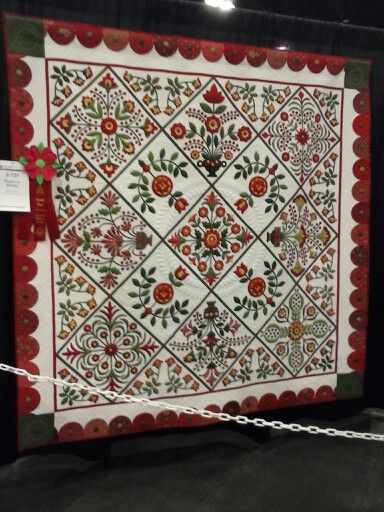374 best AQS Show Quilts images on Pinterest | The day, Baltimore ... : quilt show chicago - Adamdwight.com