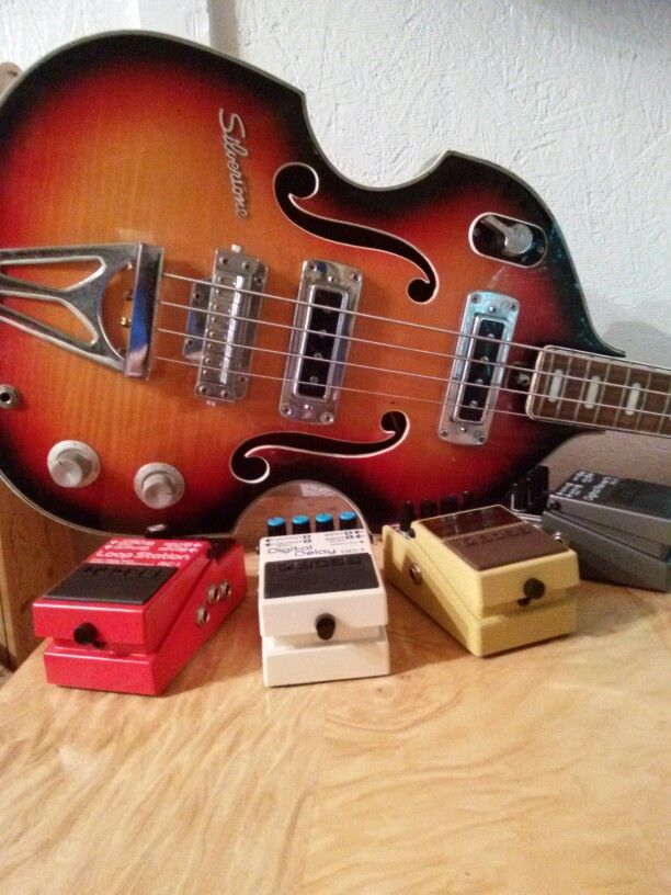 Boss guitar pedals vintage
