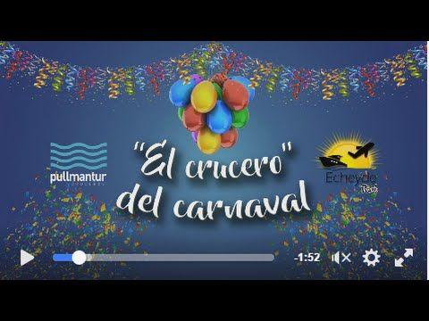 Crucero carnaval,no te lo queremos contar,los tienes que vivir!