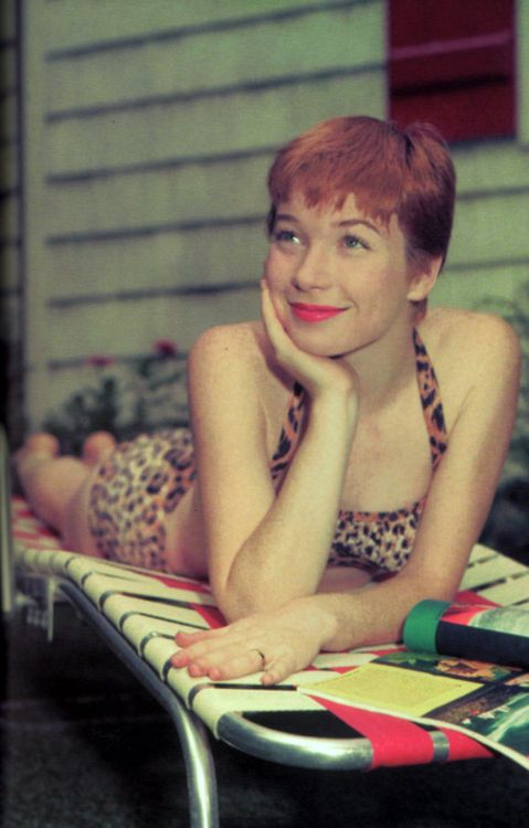 Shirley MacLaine!  What an adorable; tell it like it is; put it out there; like it or lump it, woman!