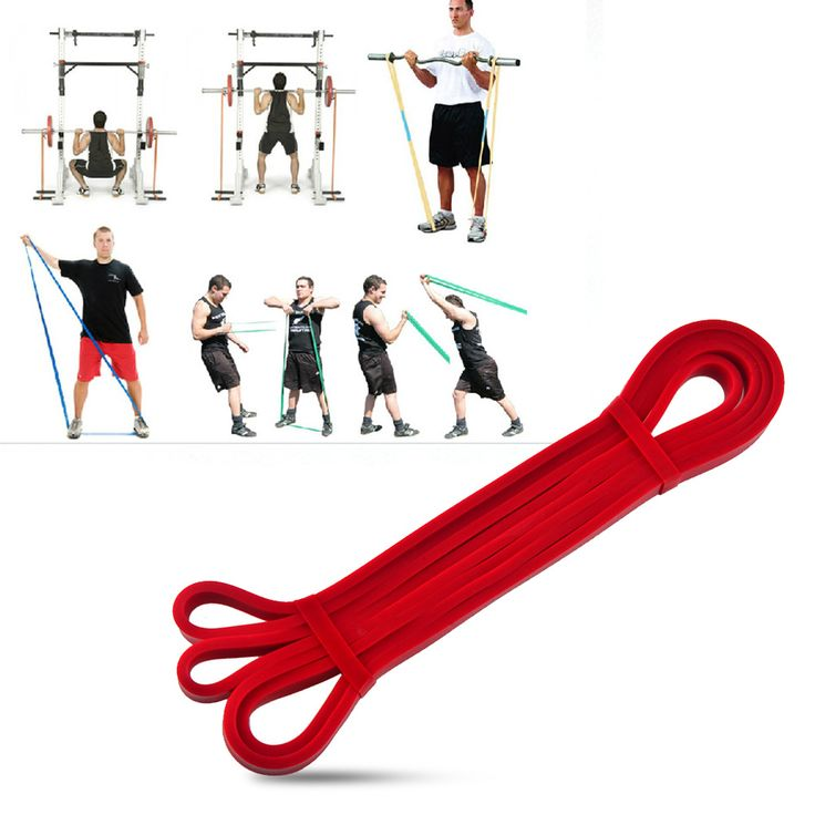 Latex Crossfit stretch resistance bands fitness gym power training powerlifting pull up equipment rubber elastic belt workout - Fitness HubFitness Hub