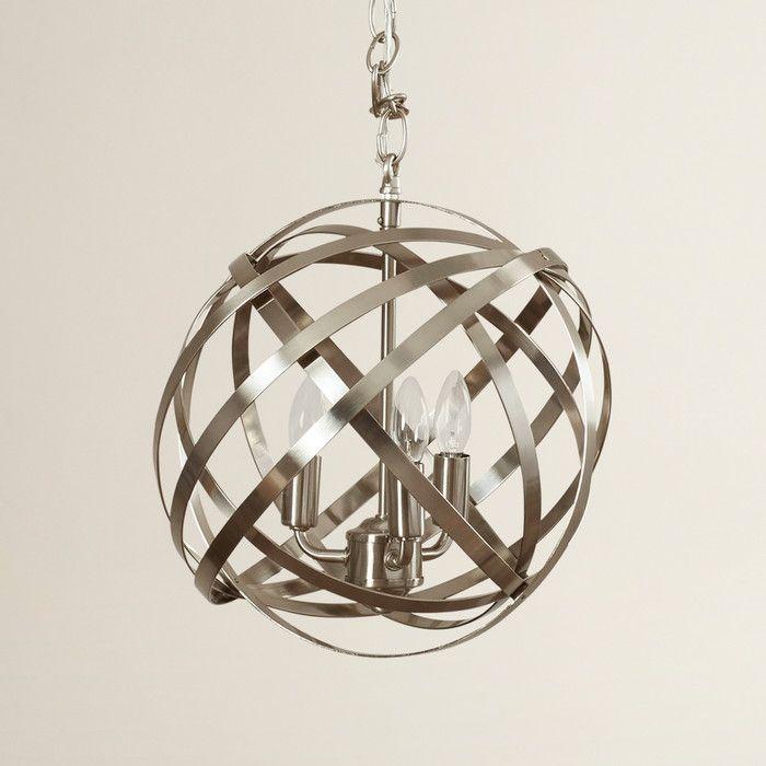 Mercury Row Dorota 3 Light Globe Pendant & Reviews | Wayfair