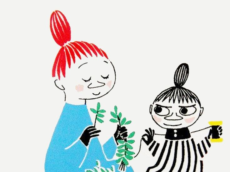 Tove Jansson - Little My and Mymble