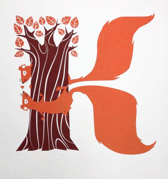 K Typography Inspiration