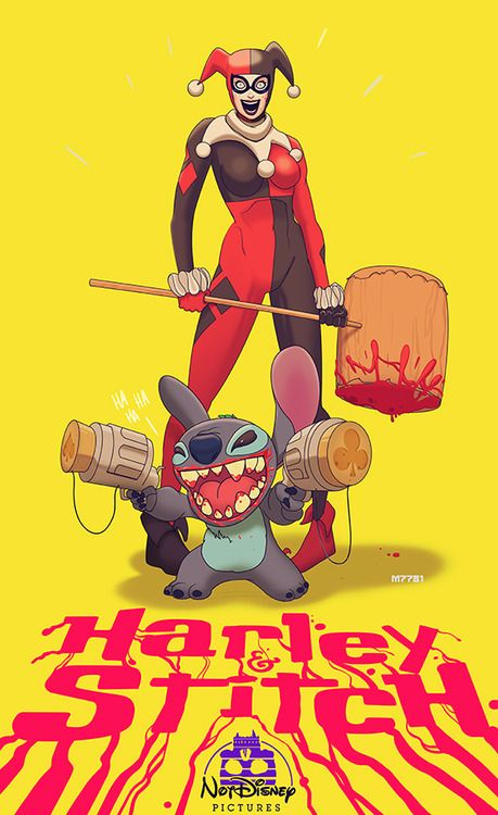 Harley & Stitch by Marco D'Alfonso @lindseynash it's us!!