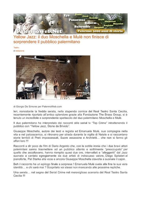 Official blog Emanuela Mulè: