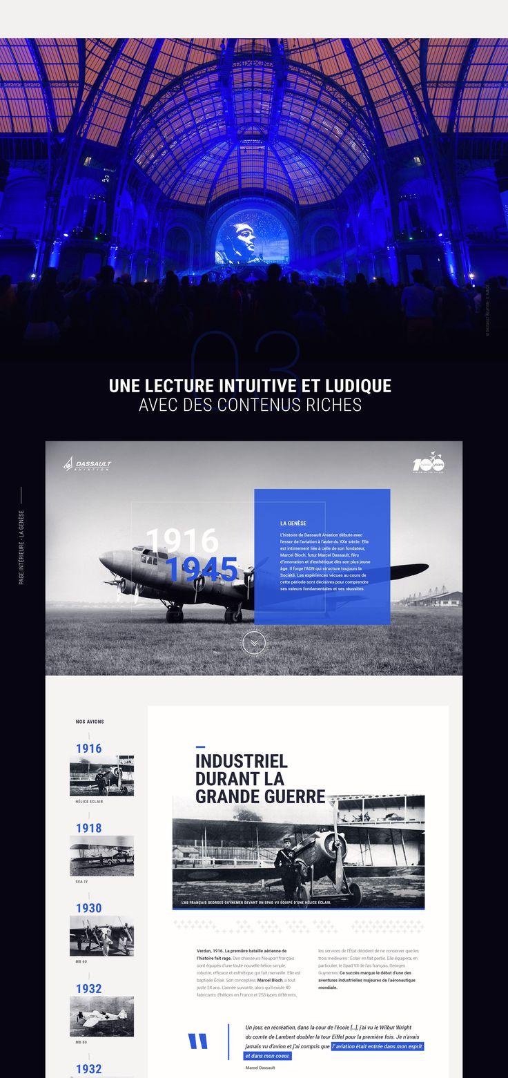 Afin de répondre à la demande de notre client (Dassault Aviation), nous avons réalisé un site événementiel responsive et multilingue afin de valoriser son parcours auprès de ses audiences. Ce projet a remporté la note de 7,83/10 aux Awwwards grâce à son d…