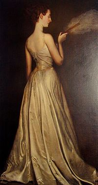 Madame Pierre Gautreau (the model for Madame X), 1898, Antonio de La Gandara.