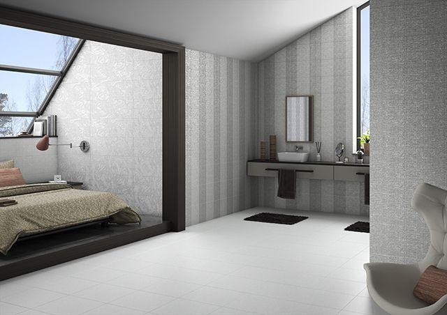 dormitorio con ba o pavimento y revestimiento cer mico