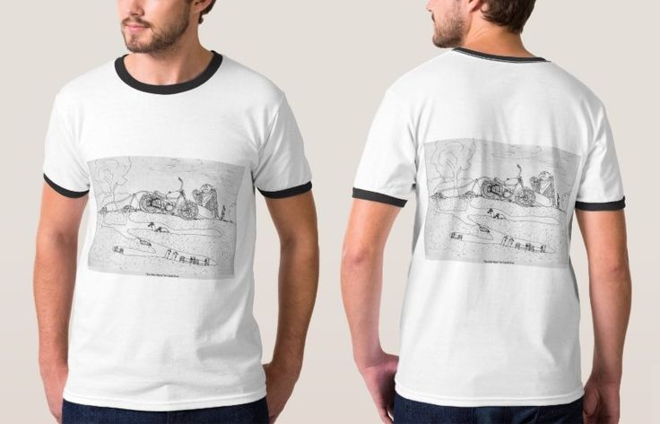 Funny T-Shirt with Cartoon Image 'The Mole Slayer' by Carola Rost
