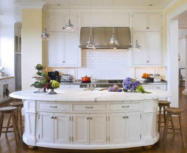 oval kitchen island home decor kitchen pinterest