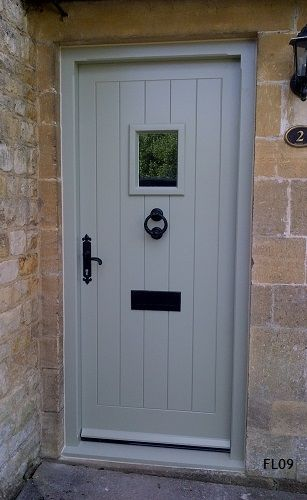 Cottage Doors Framed Ledged Oak or Painted Hardwood