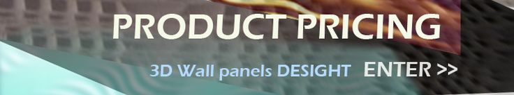 3D MDF Panels Ordering