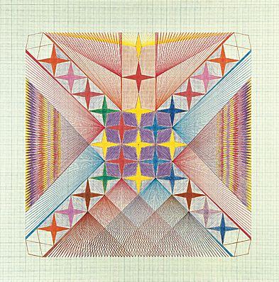 Golden Haze: Emma Kunz: Healing Visions, Sacred Geometry