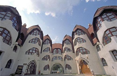Building by Imre Makovecz - Sárospatak, Hungary