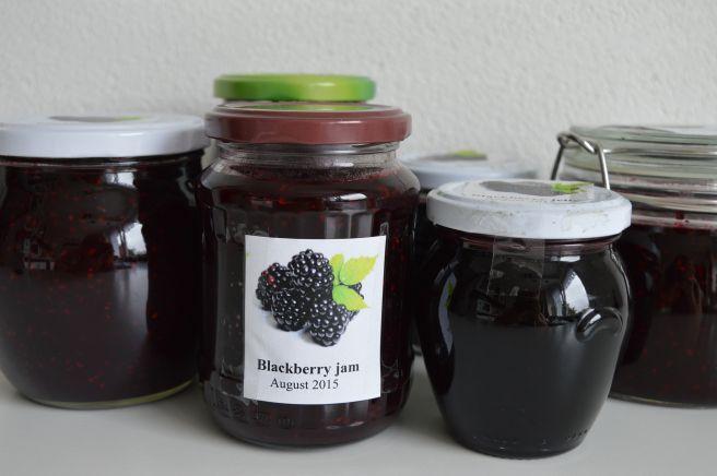 Blackberry jam and jelly   cookslovak