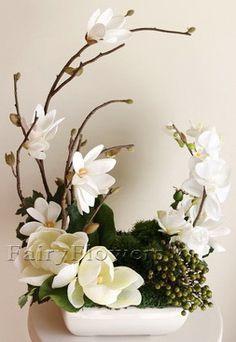Table Flower Arrangements - Fairy Flowers - The Wedding Flowers Specilaist