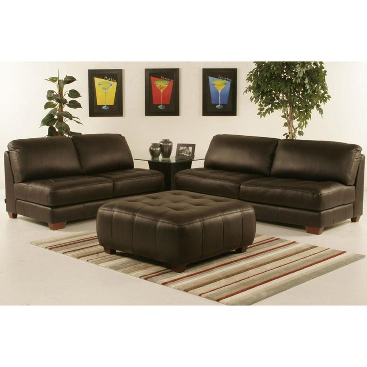ottoman for living room%0A Types Of Leather Sofa Sets    Kitchen Living RoomsLiving Room