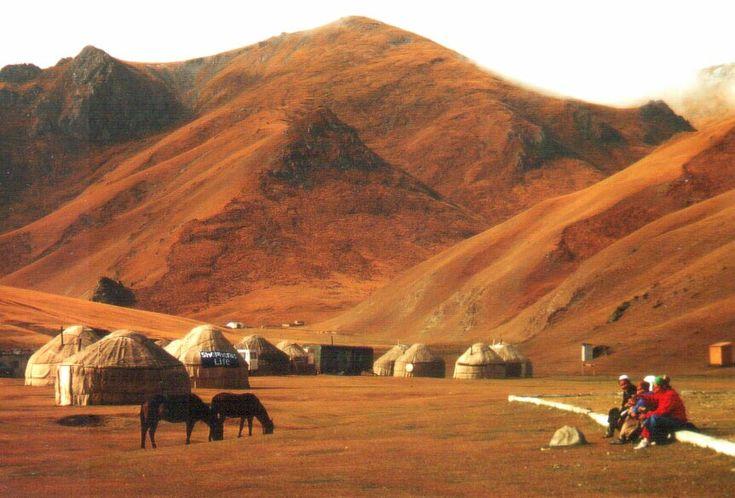 Kyrgyzstán - Tash Rabat