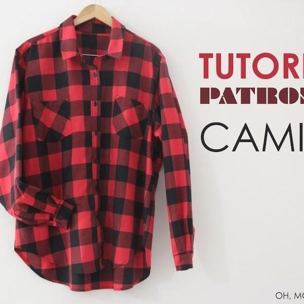 Cómo hacer una camisa de mujer oversize, paso a paso