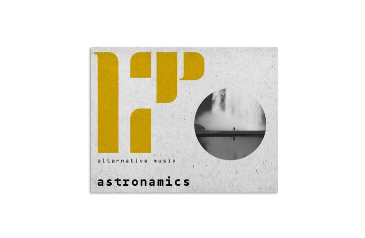 CD COVER (ASTRONAMICS) on Behance