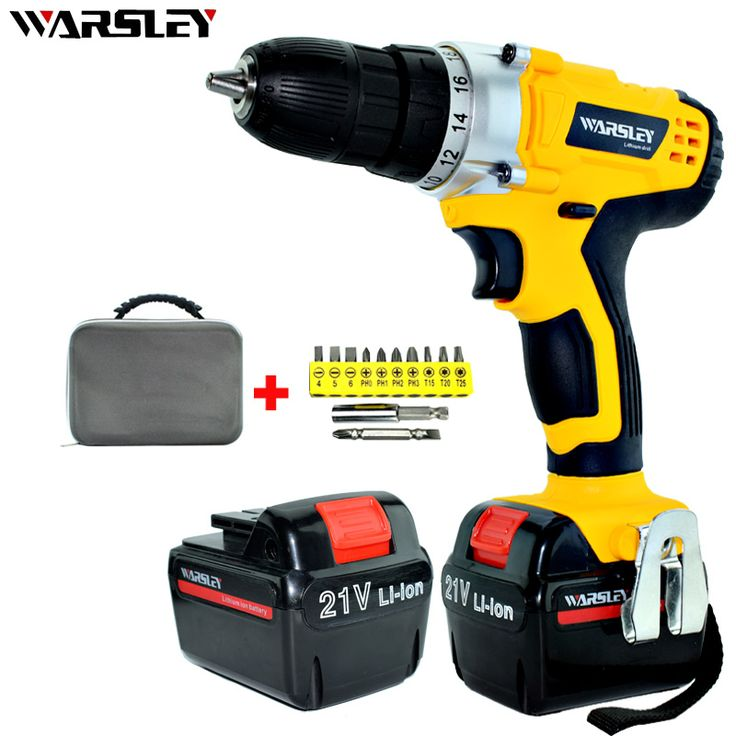 Best Price 21V Power Tools Screwdriver 2 Batteries Waterproof Drill Mini Cordless Double Speed Electric Screwdriver+Professional Toolbox #Power #Tools #Screwdriver #Batteries #Waterproof #Drill #Mini #Cordless #Double #Speed #Electric #Screwdriver+Professional #Toolbox