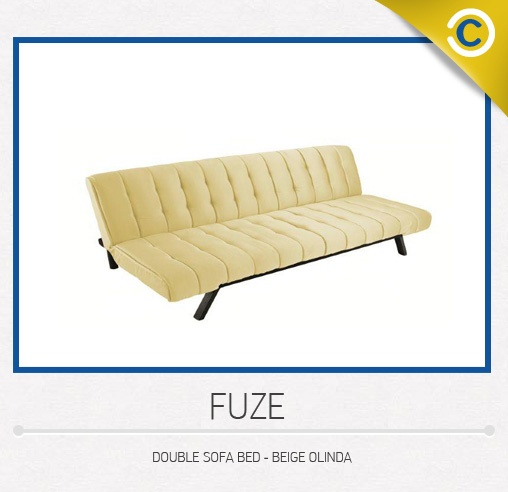 Fuze Double Sofa Bed Courts Singapore Home Furnishings