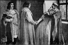 Catherine of Poděbrady (11 November 1449 – 8 March 1464) was the first wife of Matthias Corvinus, King of Hungary.