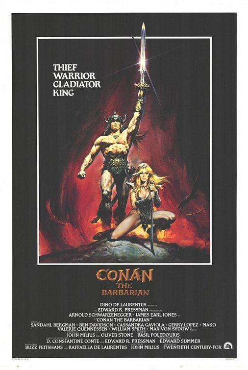 """ Conan le barbare "" de John Milius (1982)"