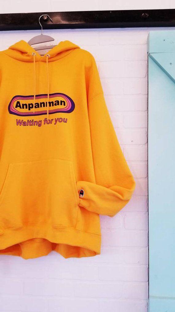 492ab5f46271 BTS Bangtan Anpanman Hoodie Kpop Brand New Army Tshirt Korea Hangul ...