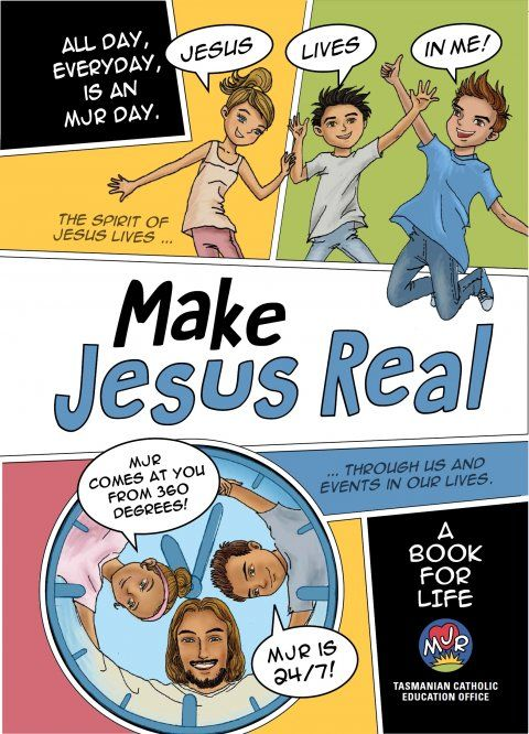 Make Jesus Real: A Book for Life | Garratt Publishing
