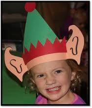 Image result for paper santa moose crown craft for kids