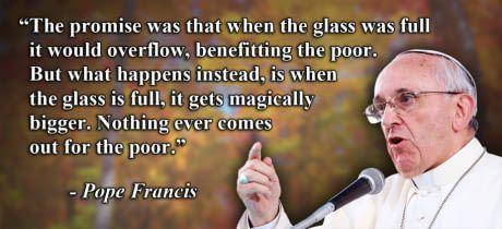On trickle-down economics