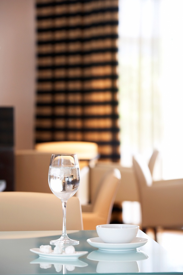 Greek coffee served with loukoumia delights - www.galaxy-hotel.com