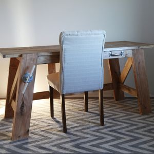 Made from pine lumber, it's sturdy, stylish, and inexpensive to make ...
