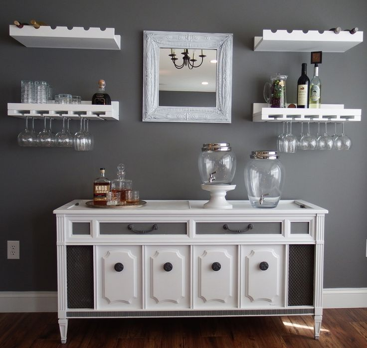 25 Best Dining Room Bar Ideas On Pinterest