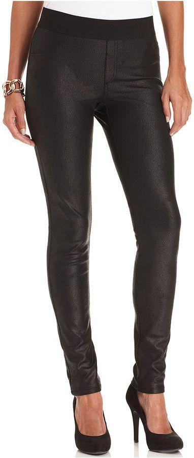 Karen Kane Faux-Leather Leggings