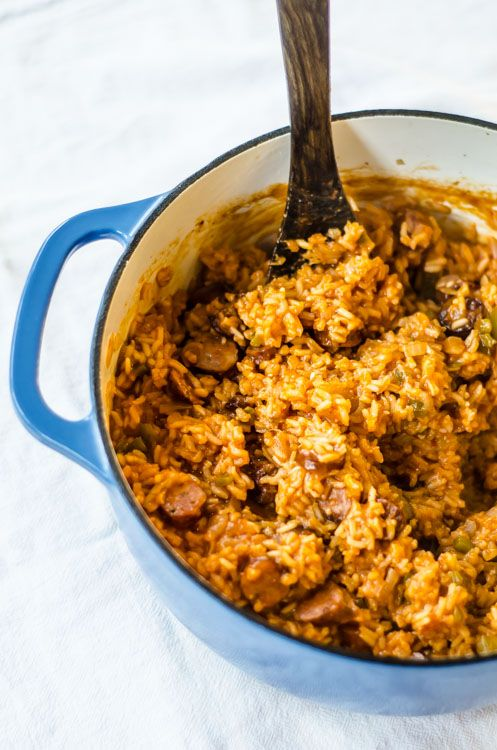Charleston Red Rice is a South Carolina low country rice dish that we discovered several years back and have been cooking ever since.