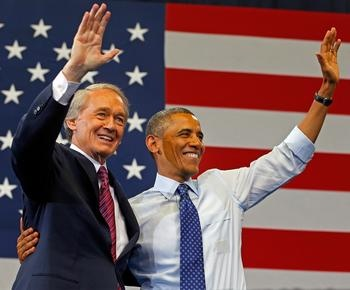 Ed Markey banks on Bill Clinton ... Hopes Clinton can rally voters as Gomez trims gap - 06/13/13 - Democrat Edward J. Markey is bringing his party's biggest gun - former President Bill Clinton - to keep the Bay State's independents and moderate Democrats in his column in a Senate race that has tightened up to single digits in the final days before the June 25 election. - See more at…