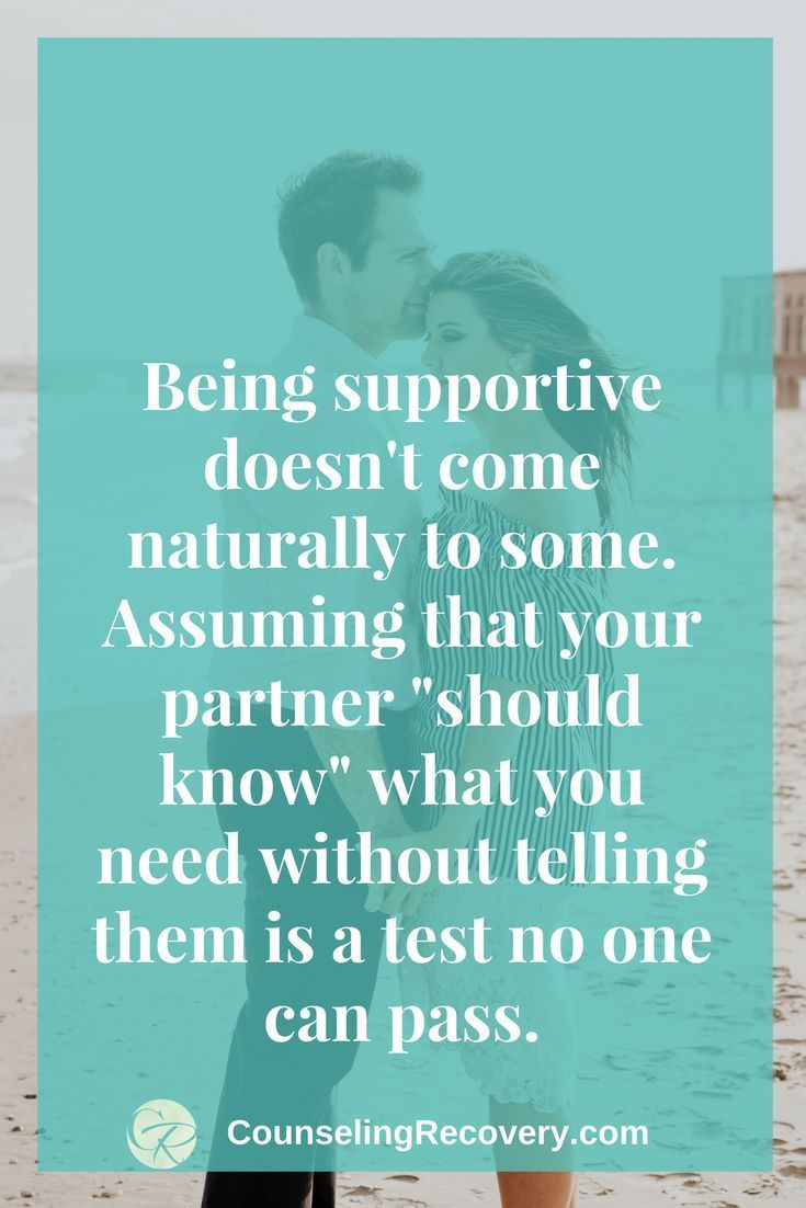 How to deal with an unsupportive husband
