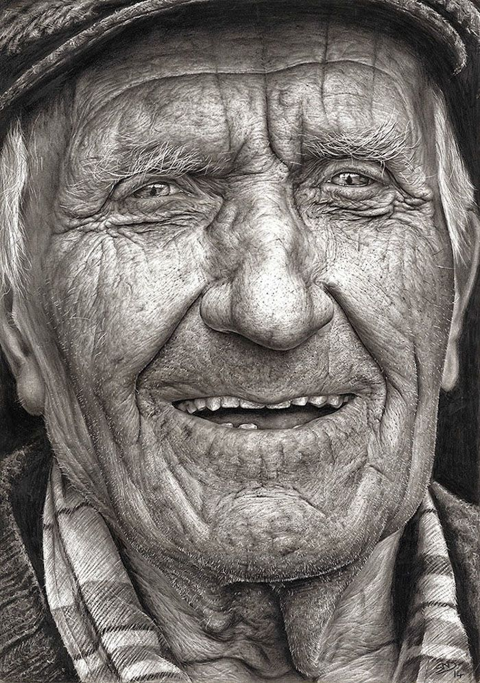 16-Year-Old's Amazingly Hyperrealistic Graphite Portrait Wins Top Prize - Pencil drawing by 16-year-old Shania McDonagh of Ireland - she won via a children's art contest hosted by Texaco