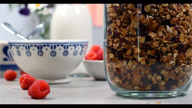 Opskrift på lækker granola