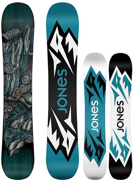Jones Mountain Twin Snowboard - Men's Snowboards - Men's Snowboarding - Jones Snowboards - Winter 2015/2016 - Christy Sports