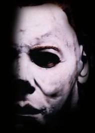 Michael Myers Classic Portrait used for the H4 lobby poster in 1988, even though they changed the mask for the film.