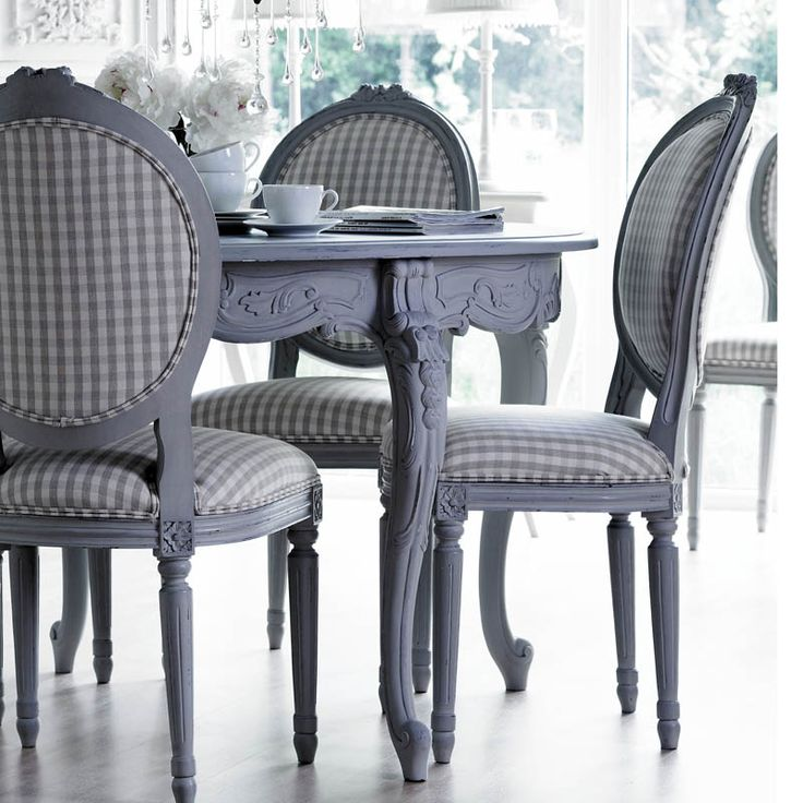 would be amazing to have chairs this nice to even start with! #dining set in awesome #grey <3 #home