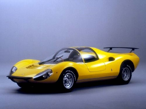 1967 Ferrari Dino 206 Competizione  サーキットの狼のディノRSの元ネタ。