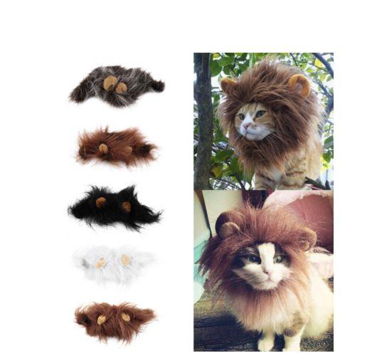 Pet Cat Emulation Lion Hair Mane